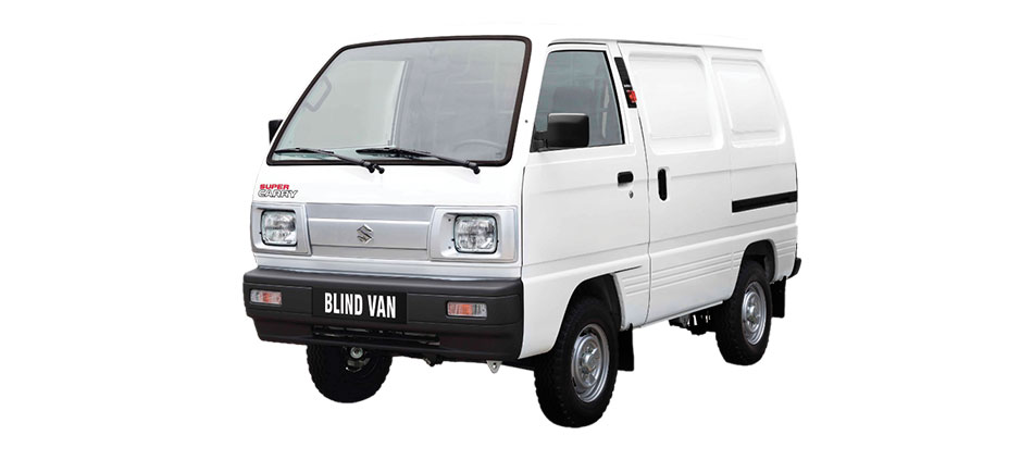 suzuki blind van trắng