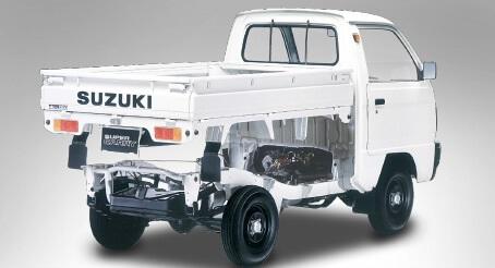 suzuki carry truck thung xe