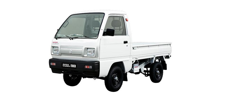 suzuki carry truck trắng